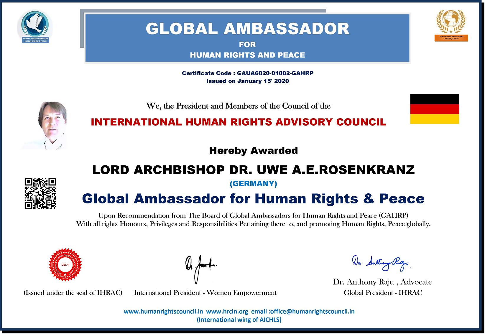 Peace and Human Rights